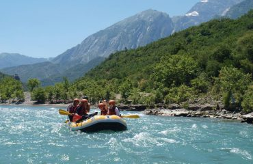 Rafting Vjosa River